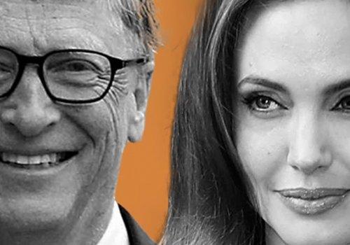Bill Gates e Angelina Jolie são os mais admirados do mundo em 2018