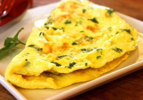 Omelete recheada