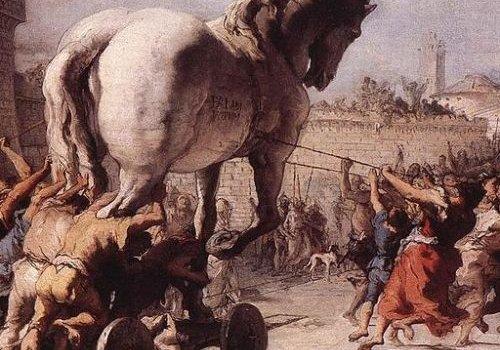 O cavalo de Tróia