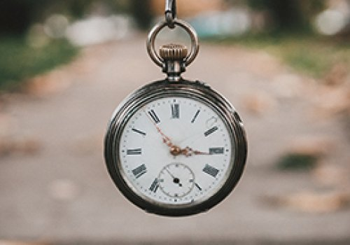 Não se apresse por conta do tempo
