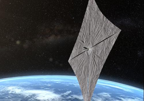 SPACE X: A ESPAÇONAVE A VELA SOLAR INSPIRADA POR CARL SAGAN